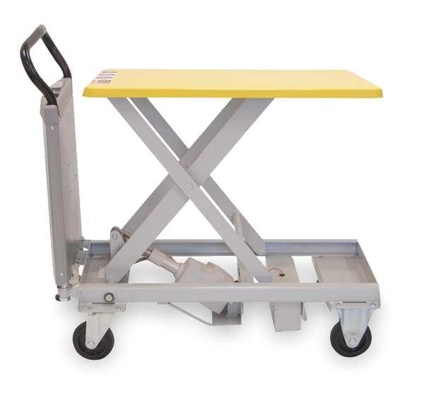 """SOUTHWORTH Scissor Lift Table, 330 lb. Cap, 20""""W, 31-1/2""""L"""