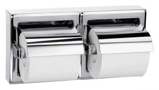 BRADLEY Toilet Tissue Disp, Surface, Dual