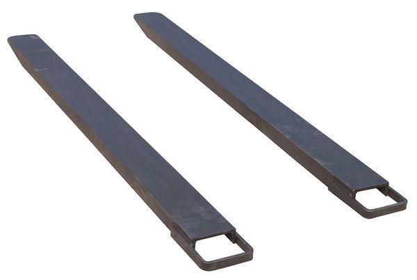 ZORO SELECT Fork Extensions, Black, 6 x 96 In, Pk2