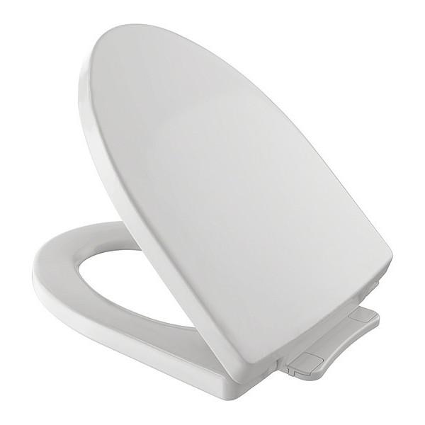 TOTO Toilet Seat, Soiree, Colonial White